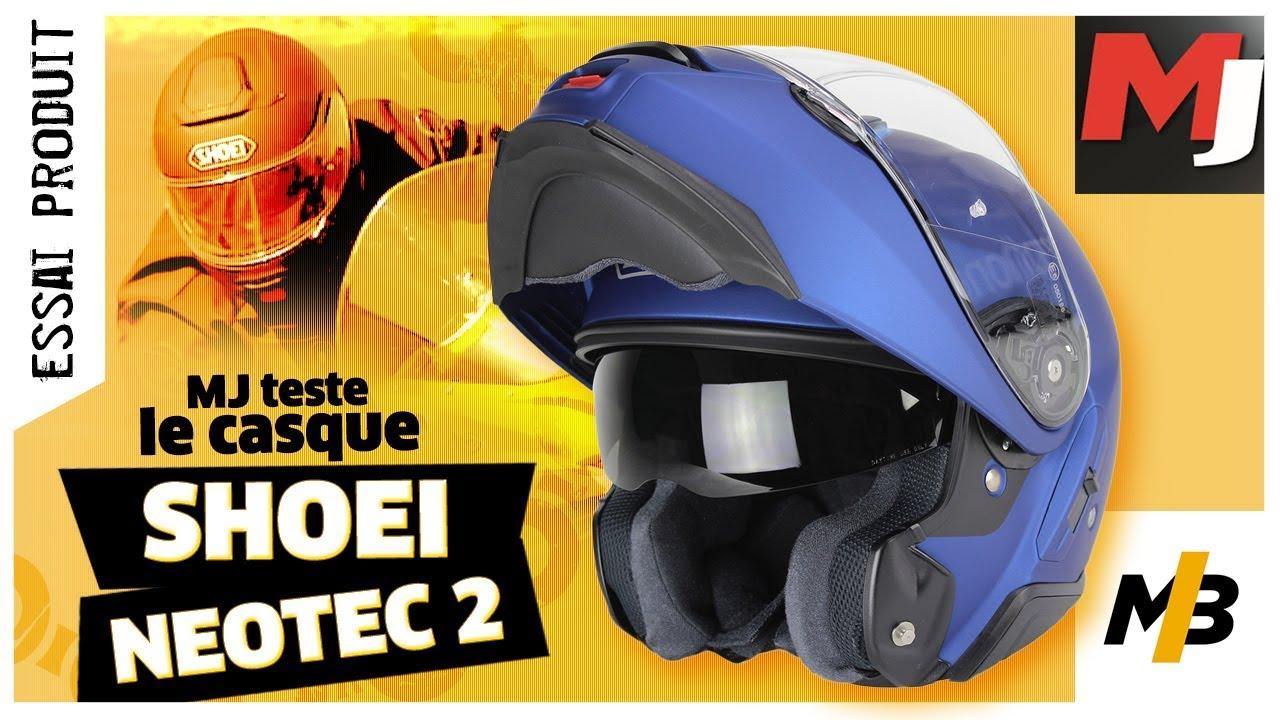 Test Shoei Neotec 2 Casque Haut De Gamme Moto Journal Youtube