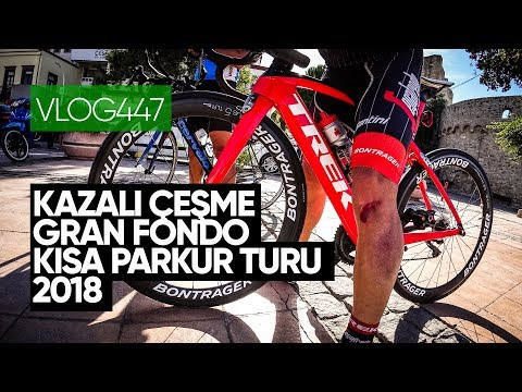 Kazalı, Çeşme Gran Fondo Kısa Parkur Turu 2018 | Asla Durma Vlog447