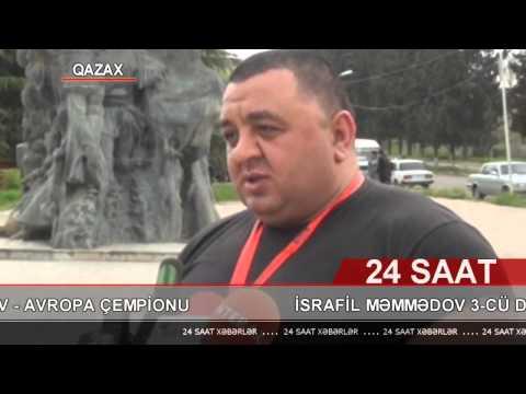 Edliyye Nazirliyi PX-nin zabiti Memmedov Israfil Avropadan qizil medalla vetene qayitmisdir