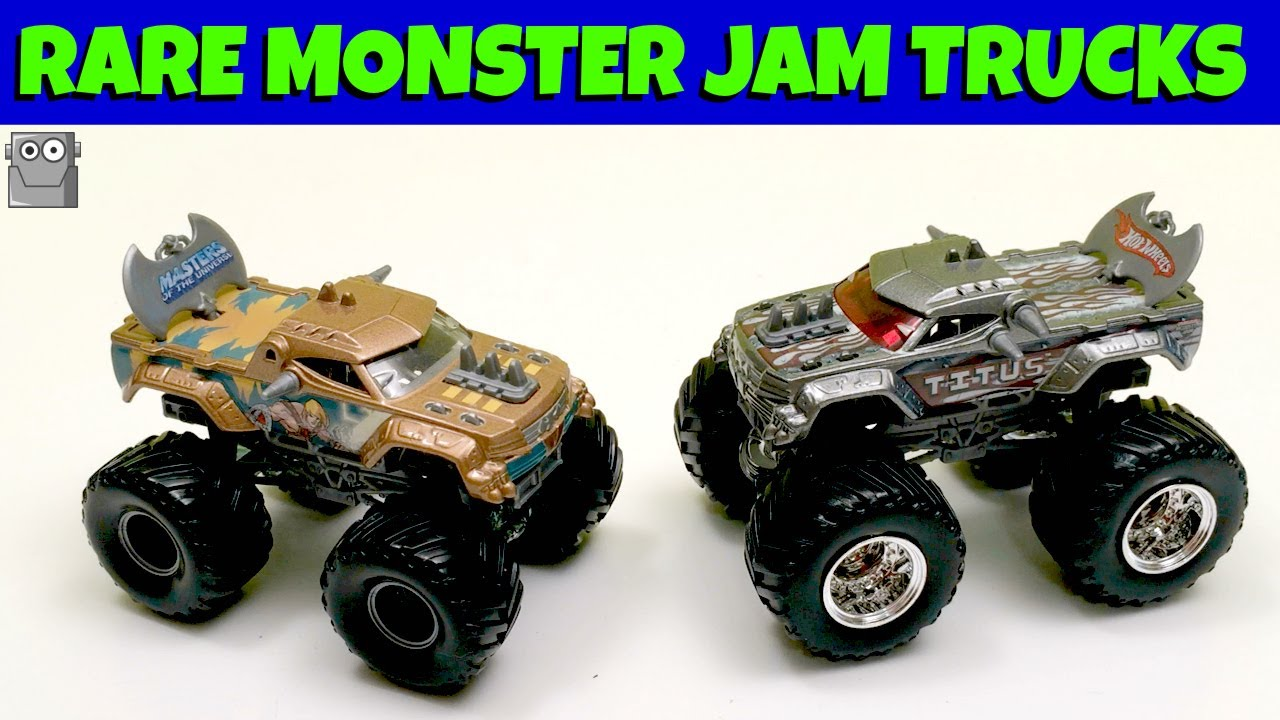 Rare Monster Jam Trucks He Man Titus Youtube
