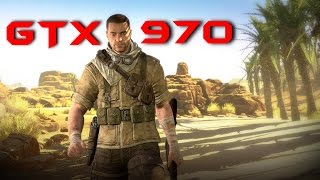 Sniper Elite 3 GTX 970 OC | 1080p & DSR - 1440p | 2160p Max Settings | FRAME-RATE TEST
