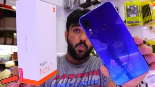 Redmi Note 7 Global Unboxing.. 64GB 4GB Blue