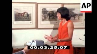 Billie Jean King news conference, 1971