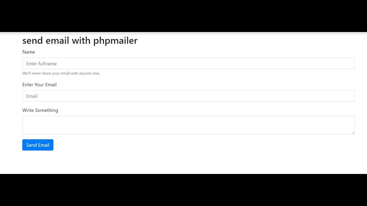 PHPMAILER Gmail Smtp- How to send Normal/html/attachment email with phpmailer