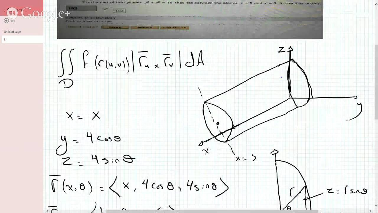 Calc iii evaluating surface integral over a cylinder between 2 calc iii evaluating surface integral over a cylinder between 2 planes ccuart Image collections