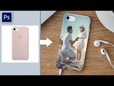 Cara Mudah Membuat Mockup Case Handphone Di Photoshop