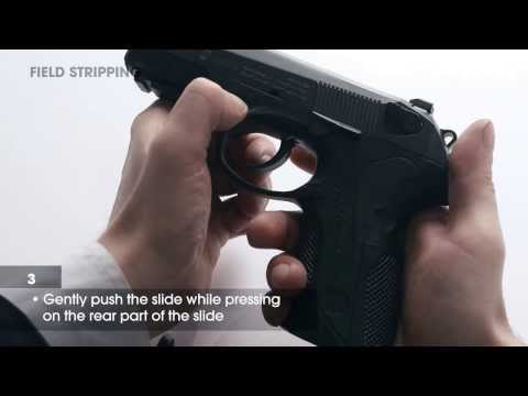 Beretta Px4 Storm Full - Overview, Disassembly and Reassembly Tutorial