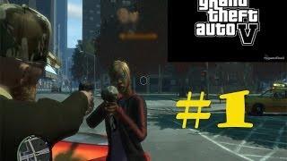 Grand Theft Auto IV (GTA IV) Мультиплеер! - Захват Аэродрома #1