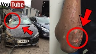 5 Youtubers Who CRASHED Their Cars / Were In Car Accidents - ComedyShortsGamer, Coby Persin