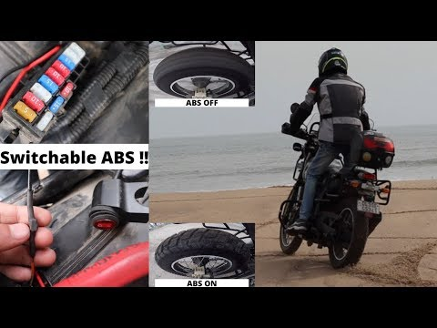 Must For Royal Enfield Himalayan Owners !! Switchable Abs 🔥😲😍