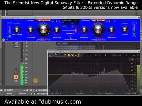 Plugins Test & Tweak #1 - The Scientist New Digital Squawky Filter