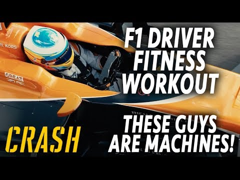 F1 driver fitness workouts 2017 - these guys are machines!