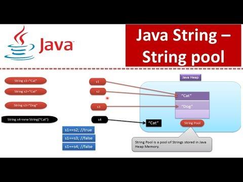 Java Tutorial : Java String(String pool)