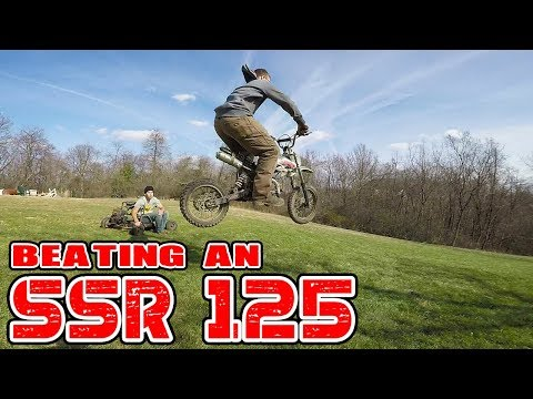 Can We DESTROY an SSR 125?! Jumps, Wheelies, & Top Speed!