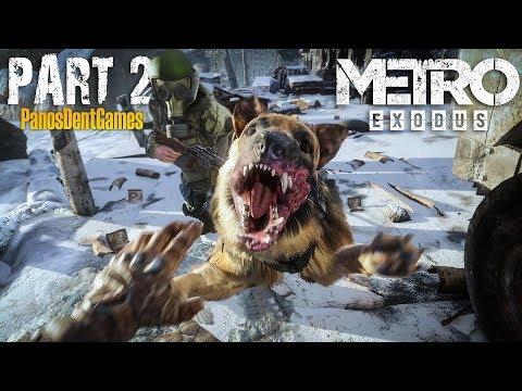ΤΕΛΙΚΑ ΥΠΑΡΧΕΙ ΖΩΗ ΕΞΩ ΑΠΟ ΤΟ ΜΕΤΡΟ ?? | Metro Exodus Part 2 Greek Gameplay