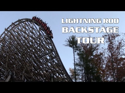Lightning Rod Off-Ride & Backstage Tour Dollywood