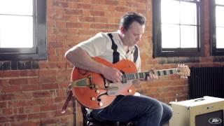 Darrel Higham on his Peavey Delta Blues amp