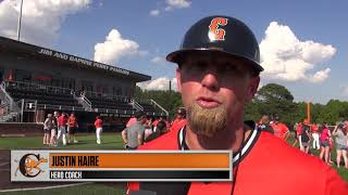 Campbell Baseball - Coach Justin Haire on the 2019 Regular Season Championship