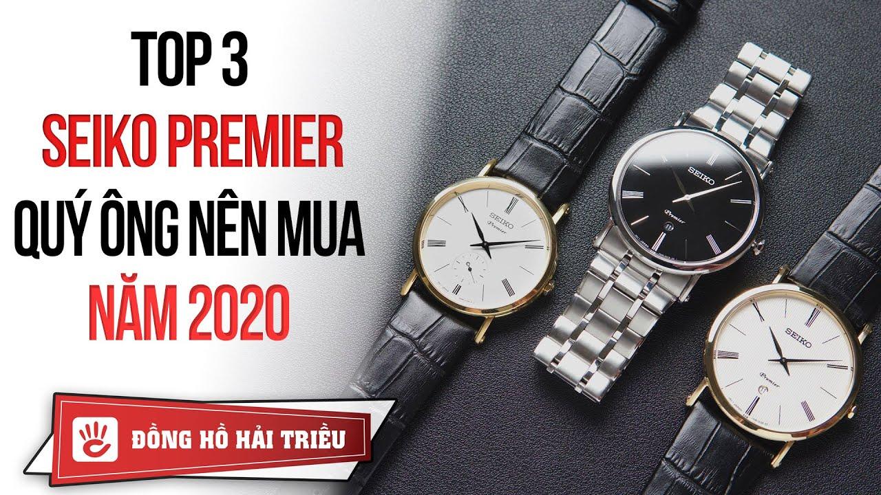 Những mẫu đồng hồ Seiko Premier cực sang trọng dành cho quý ông