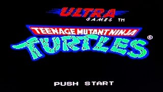 Teenage Mutant Ninja turtles (NES) Speedrun - Without dying