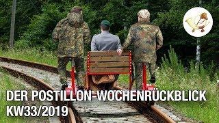 Der Postillon-Wochenrückblick (12. – 17. August 2019)
