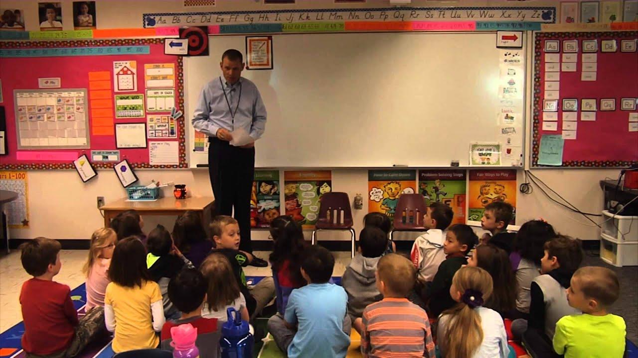 benchmark observations in a kindergarten classroom