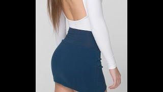 Minifaldas miniskirt colección moda tendencia modelos diseños
