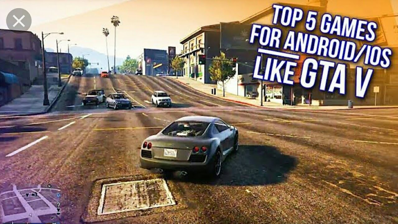 5 Games Like Gta 5 On Android And Ios For Free Youtube