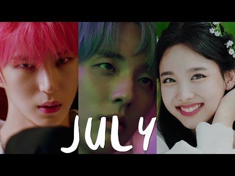 100 AMAZING KPOP SONGS IN 2018!- JULY