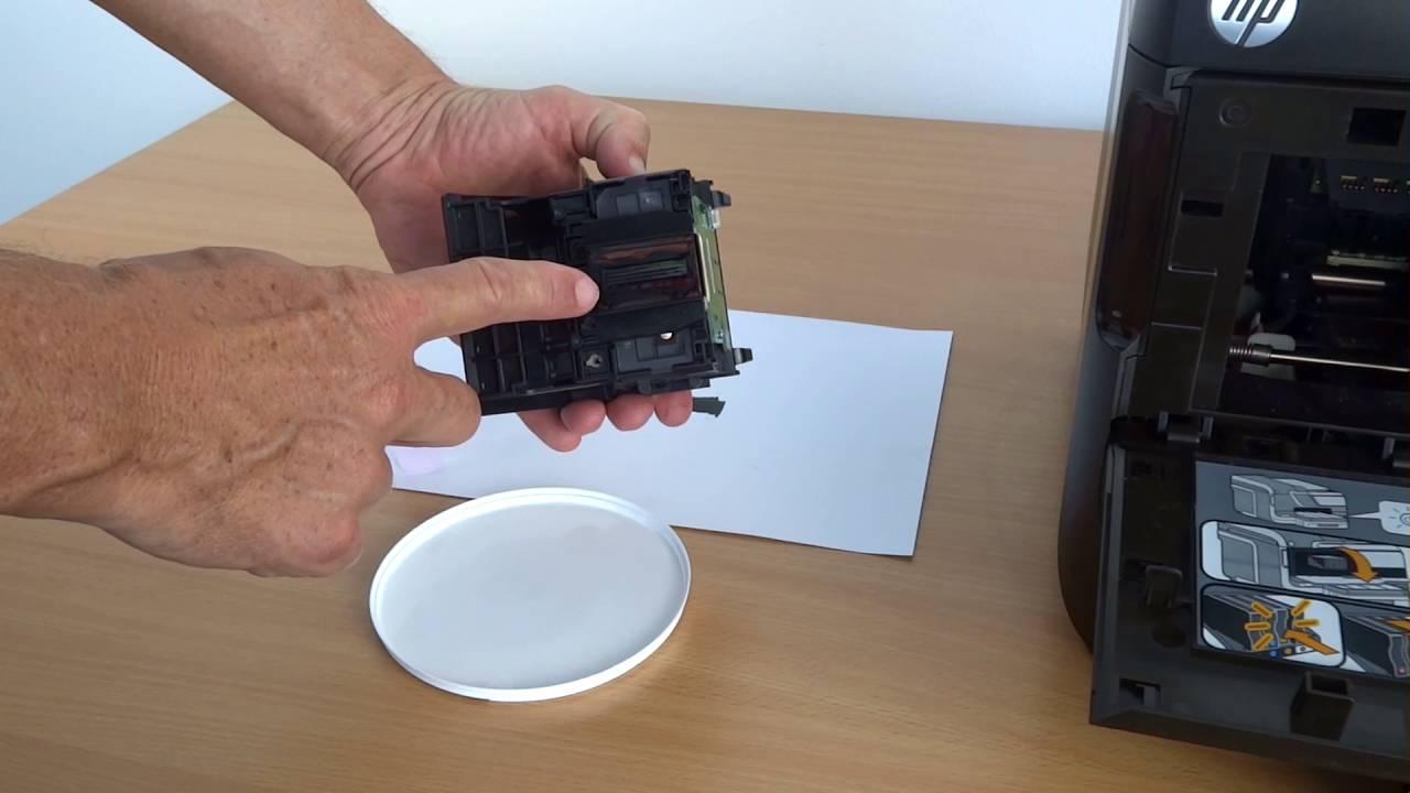 Tinten Druckkopf Reinigen Am Beispiel Hp Officejet Pro