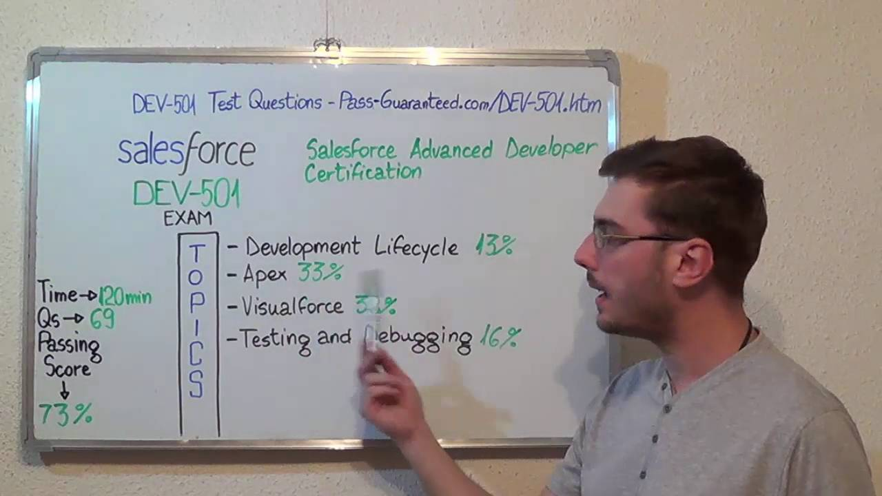 Dev 501 Salesforce Exam Advanced Developer Test Certification