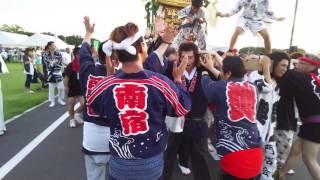 茨城南宿神輿愛好會、邑楽の祭りにて。