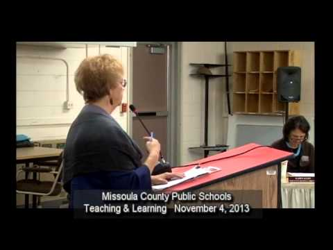 MCPS Teaching And Learning November 4, 2013
