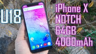Oukitel U18 | Cheapest NOTCH Display Android Phone