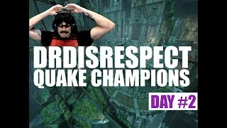 DRDISRESPECT playing Quake Champions DAY #2