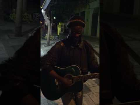 Bob Marley in Athens No woman no cry