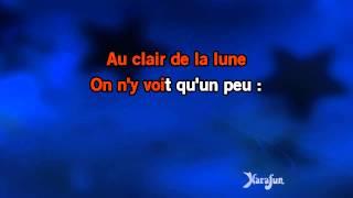 Karaoké Au clair de la lune - Comptine *