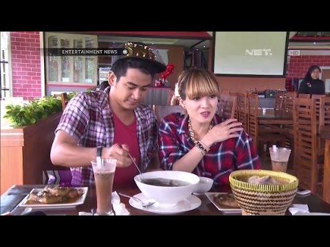 Chika Jessica dan Dwi Andhika kuliner masakan khas kota Banten