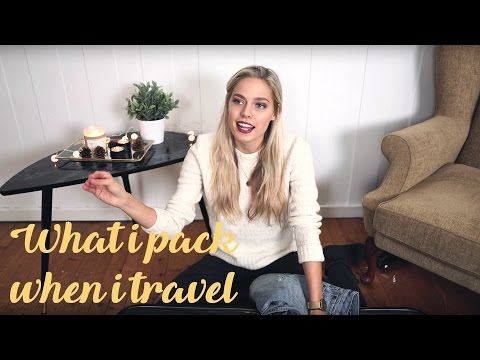 What I Pack When I Travel | Cornelia