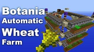 Botania | Wheat Farm | Automatic | Tutorial