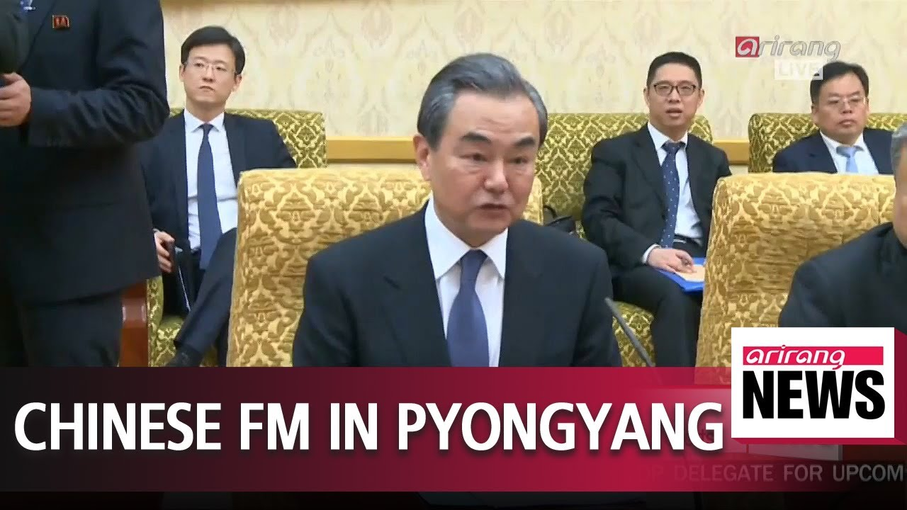 Chinese FM meets Kim Jong-un in Pyongyang on Thursday: Reuters