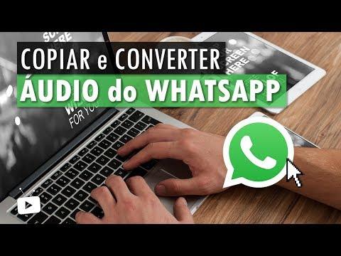 Como copiar e converter áudio do WhatsApp em MP3?