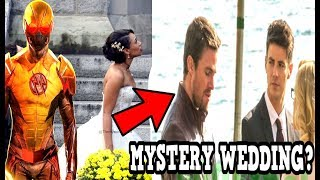 the flash double wedding funeral and reverse flash vs flash the flash season 4 crossover reveal