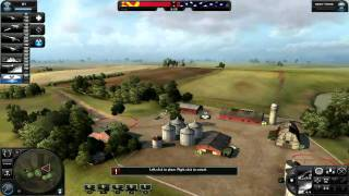 World in Conflict Soviet  battle #1.Skirmish HD