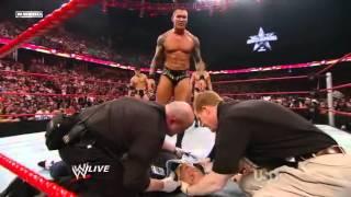 Wwe randy Orton RKOs Triple H's wife thumbnail