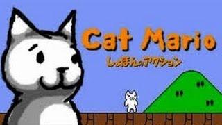 Laz Plays Cat Mario!! THOSE STUPID WATER BALLOONS!!!