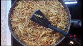 Жареные спагетти