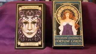 Madame Endora's Fortune Cards Full Flip Through