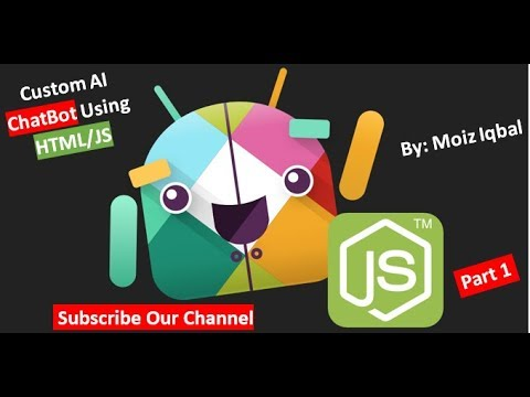 How to Make Custom AI ChatBot Using HTML/JS (CGit) (Part 1)