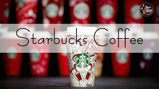 Christmas Songs  Background Snow Starbucks Coffee  Relax Music for Wake Up, Work, Study